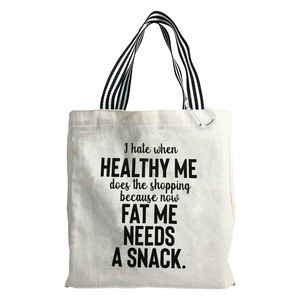 Healthy Me by Check Me Out - 100% Cotton Twill Gift Bag