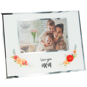 "Mom by Bunches of Love - 9.25"" x 7.25"" Frame (Holds 6"" x 4"" Photo)"