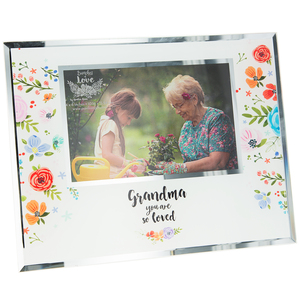 "Grandma by Bunches of Love - 9.25"" x 7.25"" Frame (Holds 6"" x 4"" Photo)"