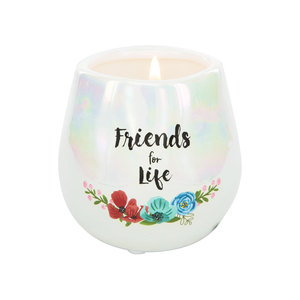 Friends by Bunches of Love - 8 oz - 100% Soy Wax Candle Scent: Serenity