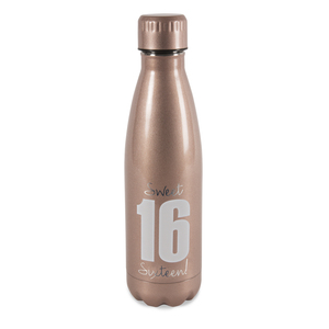 Sixteen by Happy Occasions - 18 oz Stainless Steel Water Bottle