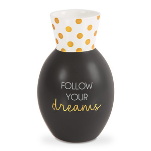 "Dreams by Happy Occasions - 6.5"" Bone China Vase"