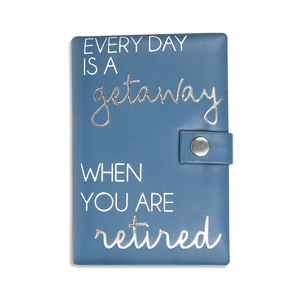 "Retired by Happy Occasions - 6"" x 4"" x 1.75"" Jewelry Case"