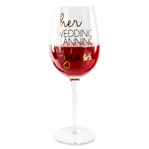 Wedding Planning by Happy Occasions - 16 oz. Crystal Wine Glass