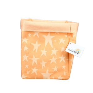 "Stars by Sunshine & Rainbows - 6.25"" x 8"" Canvas Basket"