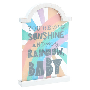 "My Sunshine by Sunshine & Rainbows - 9"" Self Standing Plaque"