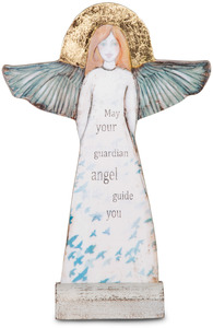 "Guardian Angel by Sherry Cook Studio - 11.5"" Self-Standing Angel"
