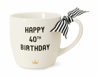 40th Birthday by The Milestone Collection - 12 oz Mug