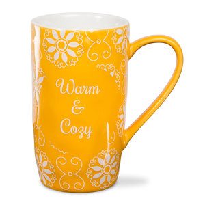 Cozy by Cinnamon Swirl - 18 oz Latte Cup