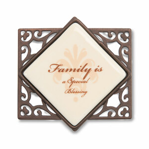 "Family (Set of 6) by Simply Stated - 2.25""Wx2""H Magnet w/Scroll"