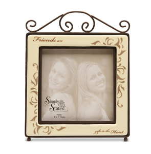 "Friend by Simply Stated - 5.5""x6.75"" Frame (4x4 photo)"