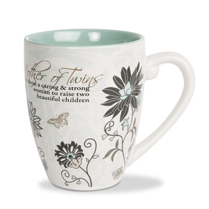 Mother of Twins by Mark My Words - 20 oz Cup