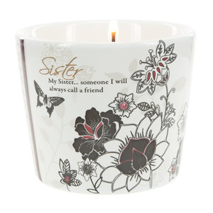 Sister by Mark My Words - 8 oz Soy Wax Candle Scent: Tranquility