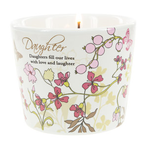 Daughter by Mark My Words - 8 oz Soy Wax Candle Scent: Tranquility