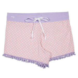 Home Girl by My Kinda Girl - S Pink Ladies Lounge Shorts