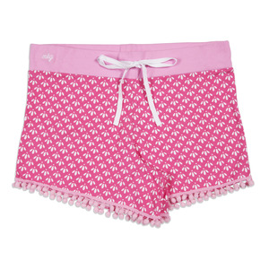 Girly Girl by My Kinda Girl - S Pink Ladies Lounge Shorts