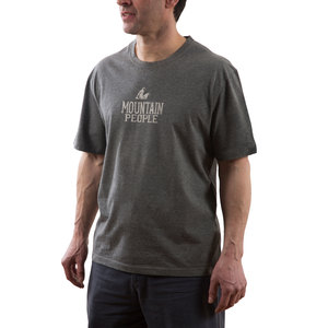 Mountain People by We People - Large Gray Unisex T-Shirt
