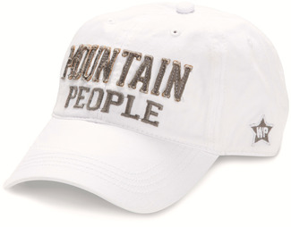 Mountain People by We People - White Adjustable Hat