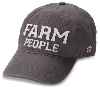 Farm People by We People - Dark Gray Adjustable Hat