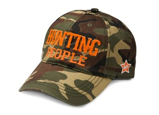 Hunting People by We People - Camouflage Adjustable Hat