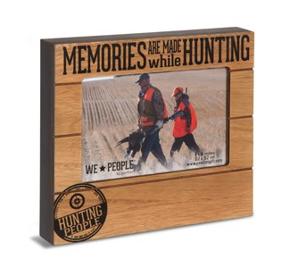 "Hunting People by We People - 6.75"" x 7.5"" Frame (Holds 4"" x 6"" Photo)"