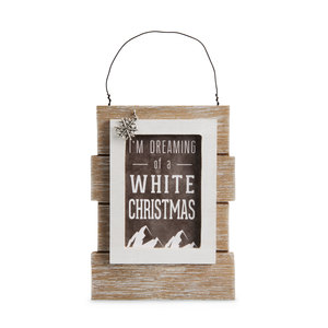 "Mountain People by We People - 5.25"" Self Standing or Hanging Plaque"