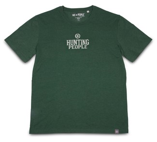 Hunting People by We People - Small Green Unisex T-Shirt