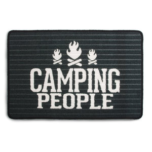"Camping People by We People - 27.5 x 17.75"" Floor Mat"