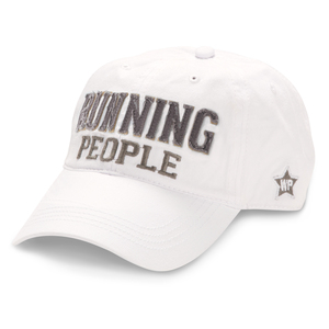 Running People by We People - White Adjustable Hat