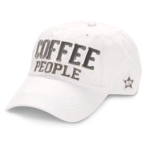 Coffee People by We People - White Adjustable Hat