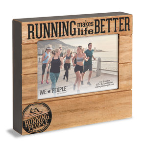 "Running People by We People - 6.75"" x 7.5"" Frame (Holds 4"" x 6"" photo)"