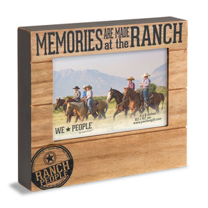 "Ranch People by We People - 6.75"" x 7.5"" Frame (Holds 4"" x 6"" photo)"