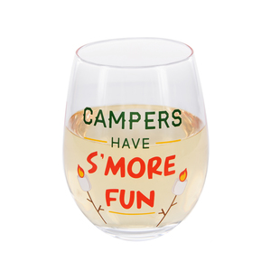 S'more Fun by We People - 18 oz Stemless Wine Glass