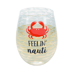 Feelin' Nauti by We People - 18 oz Stemless Wine Glass