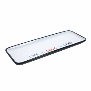 "Live Love Lake by We People - 12"" Tray"