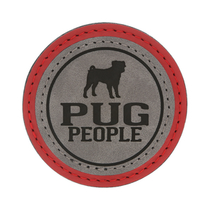 "Pug People by We Pets - 2.5"" Magnet"