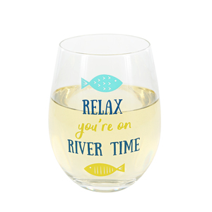 Relax by We People - 18 oz Stemless Wine Glass