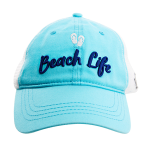 Beach by We People - Light Teal Adjustable Mesh Hat