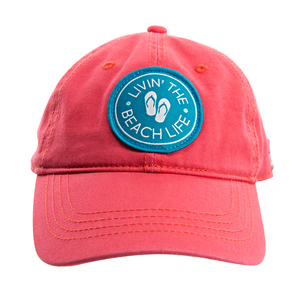 Beach Life by We People - Coral Adjustable Hat