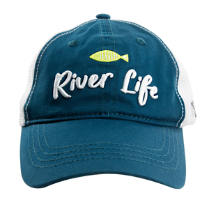 River by We People - Teal Adjustable Mesh Hat