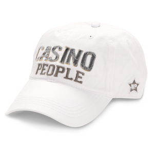 Casino People by We People - White Adjustable Hat