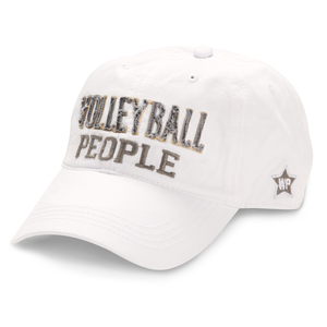 Volleyball People by We People - White Adjustable Hat