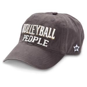 Volleyball People by We People - Dark Gray Adjustable Hat