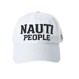 Nauti People by We People - White Adjustable Hat