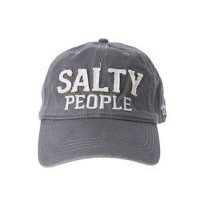 Salty People by We People - Dark Gray Adjustable Hat