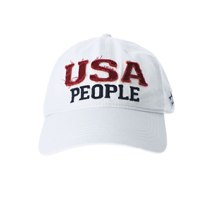 USA People by We People - White Adjustable Hat