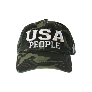 USA People by We People - Camouflage Adjustable Hat