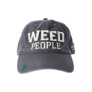 Weed People by We People - Dark Gray Adjustable Hat