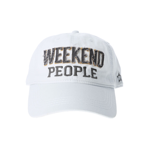 Weekend People by We People - White Adjustable Hat
