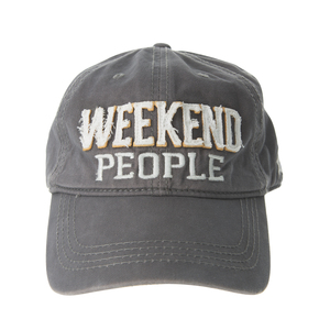 Weekend People by We People - Dark Gray Adjustable Hat